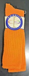 Vintage RARE Women's E. G. Smith Slouch Socks ORANGE LOVE ERIC NWT STYLE 1125