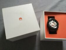 Huawei Watch 2 45mm Plastic Case Black Rubber Strap - (120140)