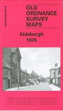 OLD ORDNANCE SURVEY MAP ALDEBURGH 1925