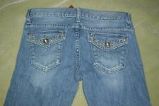 GUESS JEANS  Women Flaxy Flare-flare leg jeans 5 pockets Designs size 23