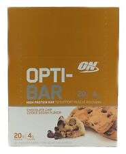Optimum Nutrition OPTI-BAR - Chocolate Chip Cookie Dough, 12 Protein Bars