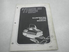 Arctic Cat 1977 Cheetah Snowmobile Illustrated Parts Manual