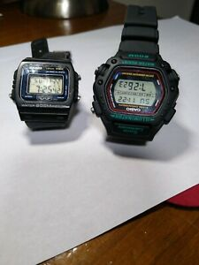 Two Vintage Casio watches