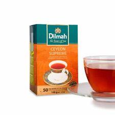 Dilmah Ceylon Supreme Tea - Ceylon Tea in 50 Tea Bags