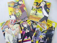 Persona 4 Shuji Sogabe Manga Comic Conjunto 1-5 libro de arte Atlus