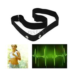 Heart Rate Monitor Sensor Strap Chest Belt for GARMIN Polar Wahoo ANT+ Bluetooth