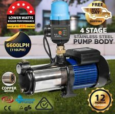 CENTAURUS 1000W Multi Stage Water Pump High Pressure Rain Tank Garden Irrigation