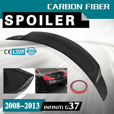 Spoiler Wing for 2008-2013 Infiniti G37 Auto Deco High Kick Tail