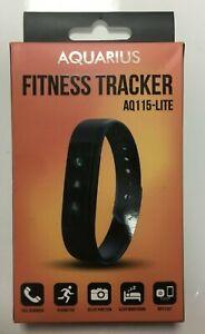 Aquarius AQ115-Lite Fitness Activity Tracker Smartwatch - Blue