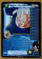 VEGETA THE CELESTIAL LV1 [Light Play] P7 Fusion  Dragon Ball Z Ccg Tcg Dbz Score