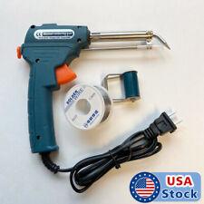 110V 60W Auto Welding Electric Soldering Iron Temperature Gun Solder Tool