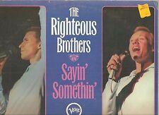 RIGHTEOUS BROTHERS Sayin' Somethin' LP SEALED! Harlem Shuffle,Soulville, My Girl