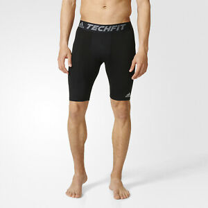 Compression Base Layer Running Shorts Mens Adidas Seamless Tight Black