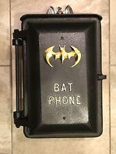 BATMAN Call Box Telephone vintage Gotham City Police Bat Phone old non gamewell