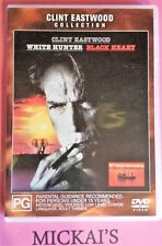 WHITE HUNTER BLACK HEART - CLINT EASTWOOD COLLECTION #27540 WARNER BROS DVD PAL