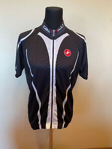Brand New Original Castelli Cycling Jersey SHORT SLEEVES SIZE 2XL For Men