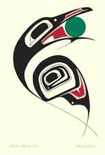 Raven Stealing Sun Danny Dennis Art Card Tsimshian Northwest Coast Native