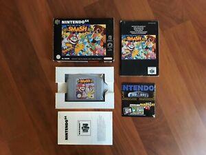 Nintendo 64  N64  Gioco  Super Smash Bros    Completo