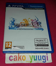 FINAL FANTASY X X-2 HD REMASTER SONY PS VITA NEUF SOUS BLISTER VERSION FRANCAISE