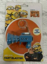 Minions Fart Blaster Keyring Key Fob Despicable Me 3 Stocking Filler Brand New