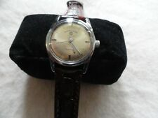 Swiss Made Favre Leuba Geneve Sea King Vintage Mechanical Wind Up Men's Watch