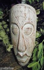Big lips tropical tiki mold concrete plaster mould