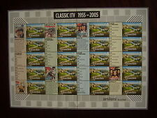Great Britain 2005 LABEL SHEET  type LS26 - CLASSIC ITV  MNH.