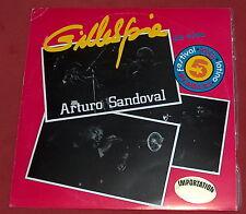DIZZY GILLESPIE ARTURO SANDOVAL EN VIVO FESTIVAL LATINO 1985 LP EGREM