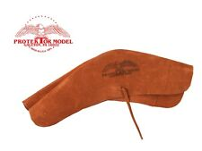 PROTEKTOR MODEL NEW #54B SUEDE LEATHER FLINT LOCK COVER - RIFLE COVER