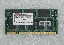 BRAND NEW GENUINE KINGSTON TP9828 1GB TP9828/1GB DDR 333MHz CL2.5 PC-2700 MEMORY
