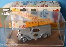 FIAT 500 SERIE COMMERCIALE BRUMM R46 1/43 MADE IN ITALY TOLE GREY GRISE