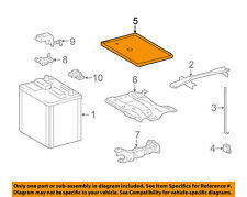 TOYOTA OEM 03-16 Corolla 1.8L-L4 Battery-Tray Bracket Holder 7443102110