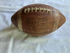 Rawlings R5 Official Intercollegiate Leather Football, Needs Bladder