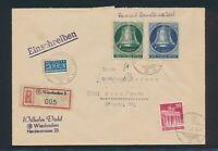 Berlin 1951, Mi. 78 Brief, portorichtiger R-Brief! Mi. 145,--!