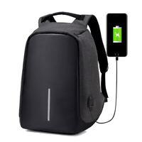 Travel Backpack  Teenager Male Mochila Back Anti-thief Bag USB Charging  Laptop