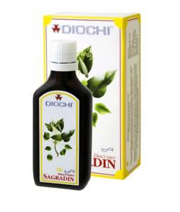 SAGRADIN DIOCHI Digestive Support 50ml, FREE P&P