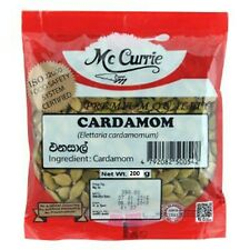 Organic Ceylon Cardamom Seeds Pure Natural from Sri Lanka 200g Export Quality