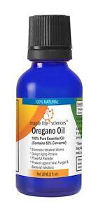 Oregano Oil 100% Pure & Natural Essential Oil 65% Carvacrol Eliminate worms