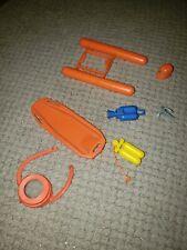 Vintage 1977 Matchbox Mobile Action Command Oceana Sea Rescue Unit Parts Lot
