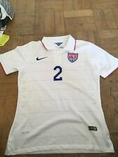 Nike Authentic Team USA Soccer World Cup 2014 Deandre Yedlin Jersey Size M