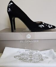 Peter Kaiser Dakota Embellished Court Shoe, 5/38, Black, BNIB