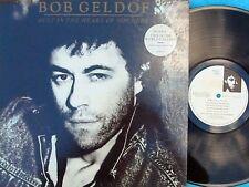 Bob Geldof~Orig UK LP Deep in the heart of nowhere EX 86 Boomtown Rats Post Punk