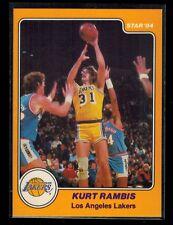 1983-84 Star Company KURT RAMBIS rookie card # 21