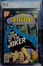 Detective Comics #476 CGC 9.0 Marshall Rogers - Classic Joker Cover and Story!
