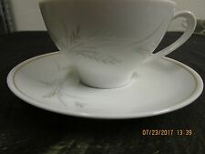 Noritake Windrift Coffee Cups with Saucers Mint  Lot of 2