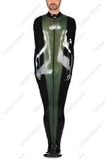 080 Latex Rubber Gummi shoulder zipper Sleep-sack Body bag suit customized 0.4mm