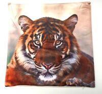 Tiger Colour Cushion Cover Printed Digital