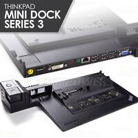 Lenovo Thinkpad T420 T420s T430 T510 T510i L330 Mini Docking Station Series 3