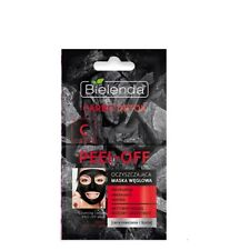Bielenda Carbon Detox Mask Peel Off Face Mask with Active Carbon Oily Mixed Skin