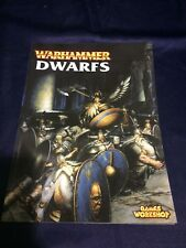 Warhammer Armies - Dwarfs Rulebook 2000